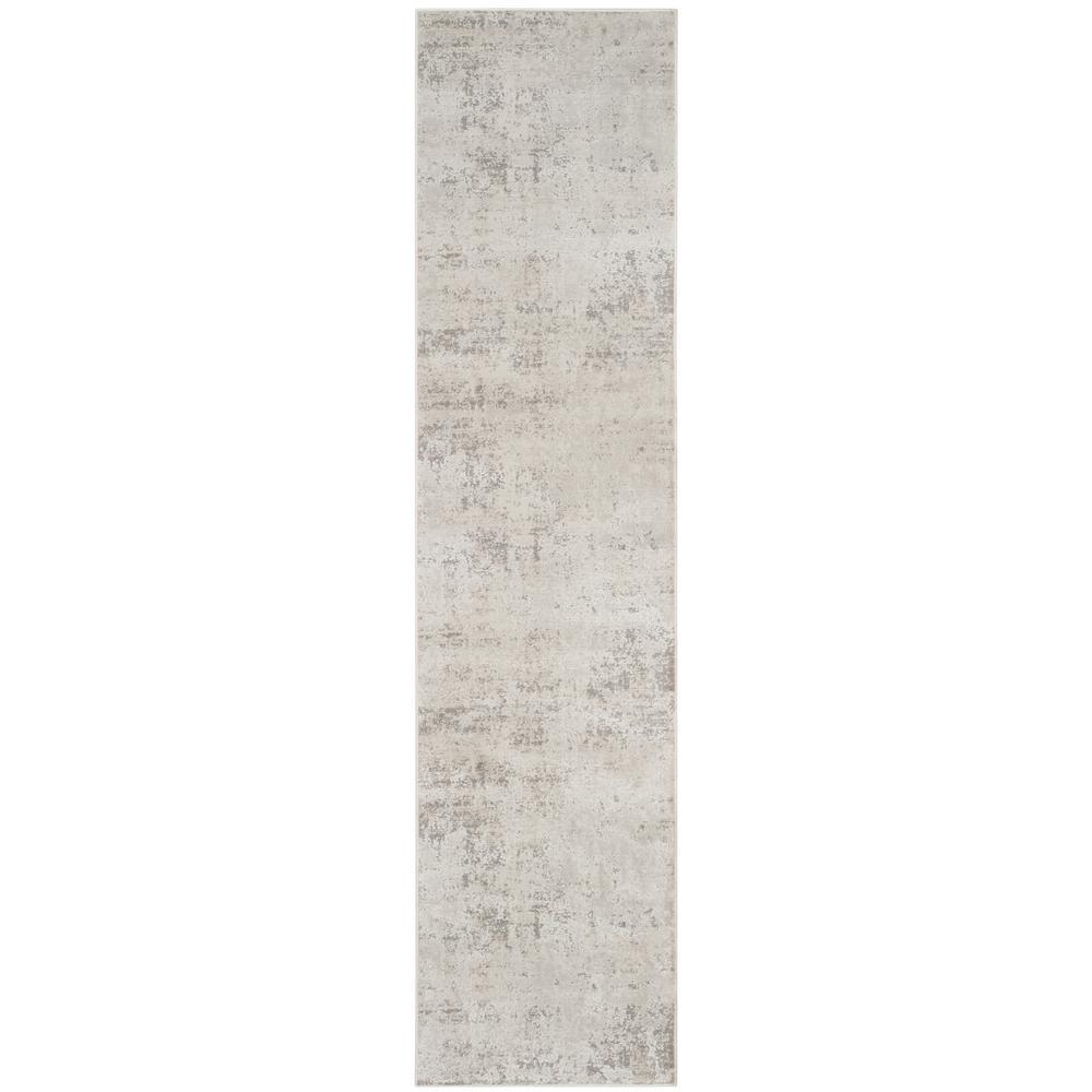 Princeton Beige/Gray 2 ft. x 8 ft. Runner Rug