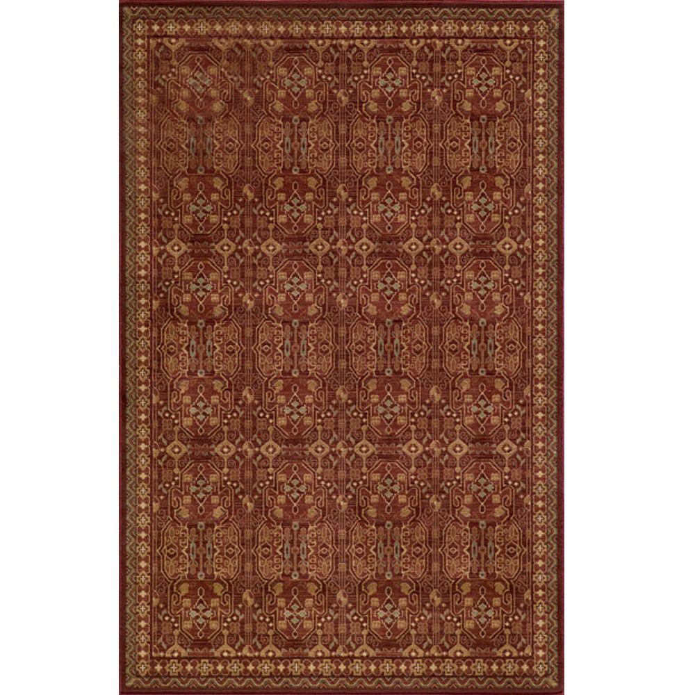 Buckingham Red 3 ft. 11 in. x 5 ft. 7 in.