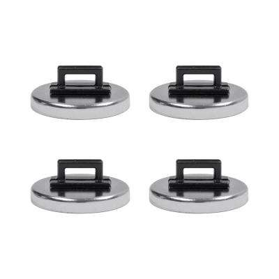 Magnetic Zip Tie Holder Rare Earth (4-Pack)