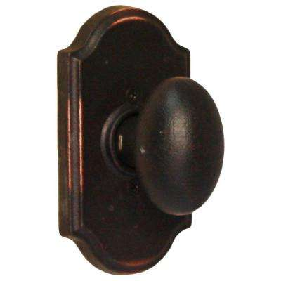Molten Bronze Oil-Rubbed Bronze Premiere Half-Dummy Durham Door Knob