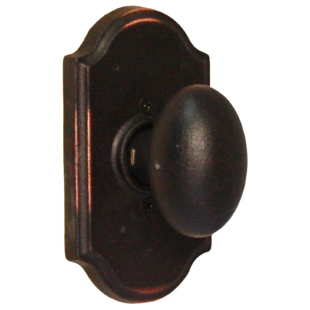 Molten Bronze Oil-Rubbed Bronze Premiere Half-Dummy Durham Door Knob