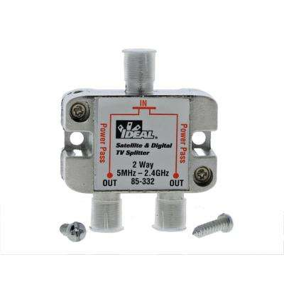 5 MHz - 2.4 GHz 2-Way Digital Splitter (Standard Package, 3 Splitters)