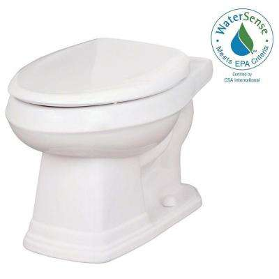 Allerton 1.28 GPF Elongated Toilet Bowl Only in White