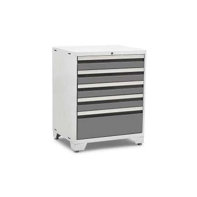Pro 3.0 Series 28 in. W x 35.5 in. H x 22 in. D 18-Gauge Welded Steel 5-Drawer Tool Cabinet in Platinum