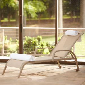Hampton bay westin commercial contract grade sling patio for Bay window chaise lounge