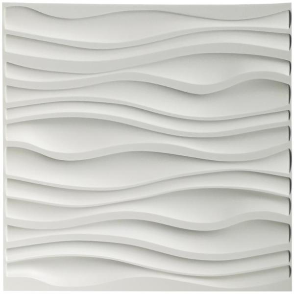 Art3d 19.7 in. x 19.7 in. Decorative PVC 3D Wall Panels