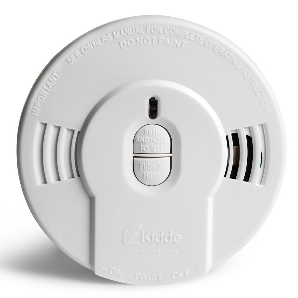 Kidde Code One 10 Year Sealed Battery Smoke Detector With Ionization Sensor 21028780 The Home Depot