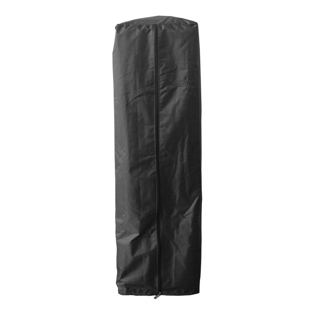 38 in. Heavy Duty Black Portable Glass Tube Heater Cover