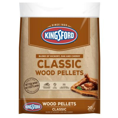 20 lbs. Classic Blend of Hickory, Oak and Cherry Wood Grilling Pellets