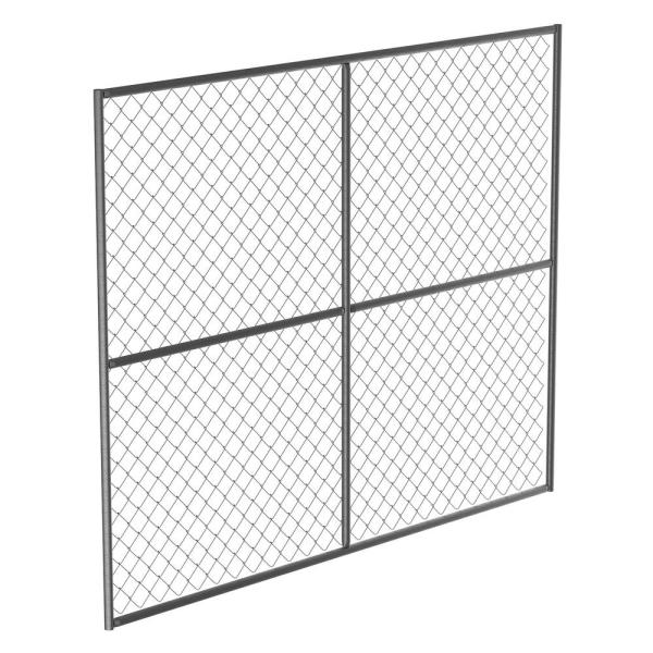 Galvanized Steel Barrier Panel Unit 90 in. x 72 in.