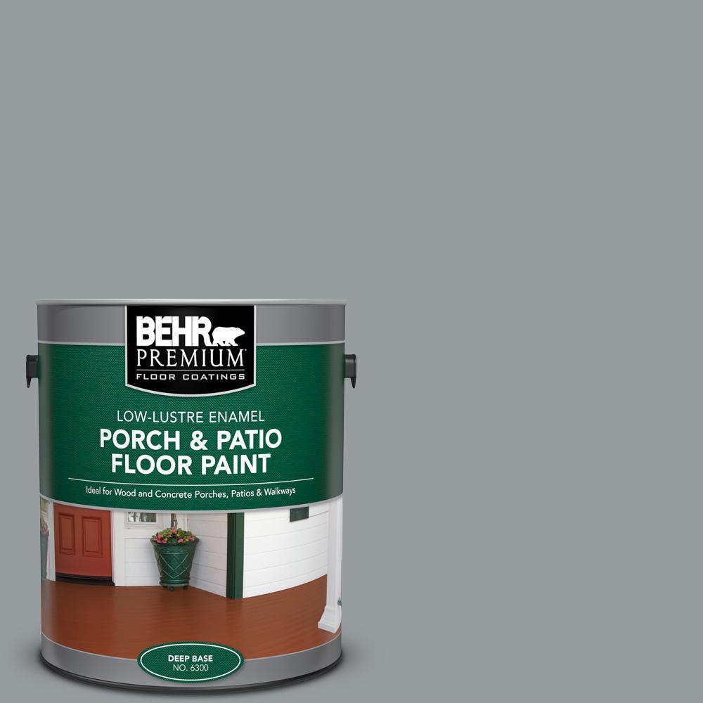 BEHR PREMIUM 1 gal. #N500-4 Pencil Sketch Low-Lustre Enamel Interior/Exterior Porch and Patio Floor Paint