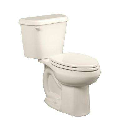 Colony 10 in. Rough-In 2-piece 1.6 GPF Single Flush Elongated Toilet in Linen