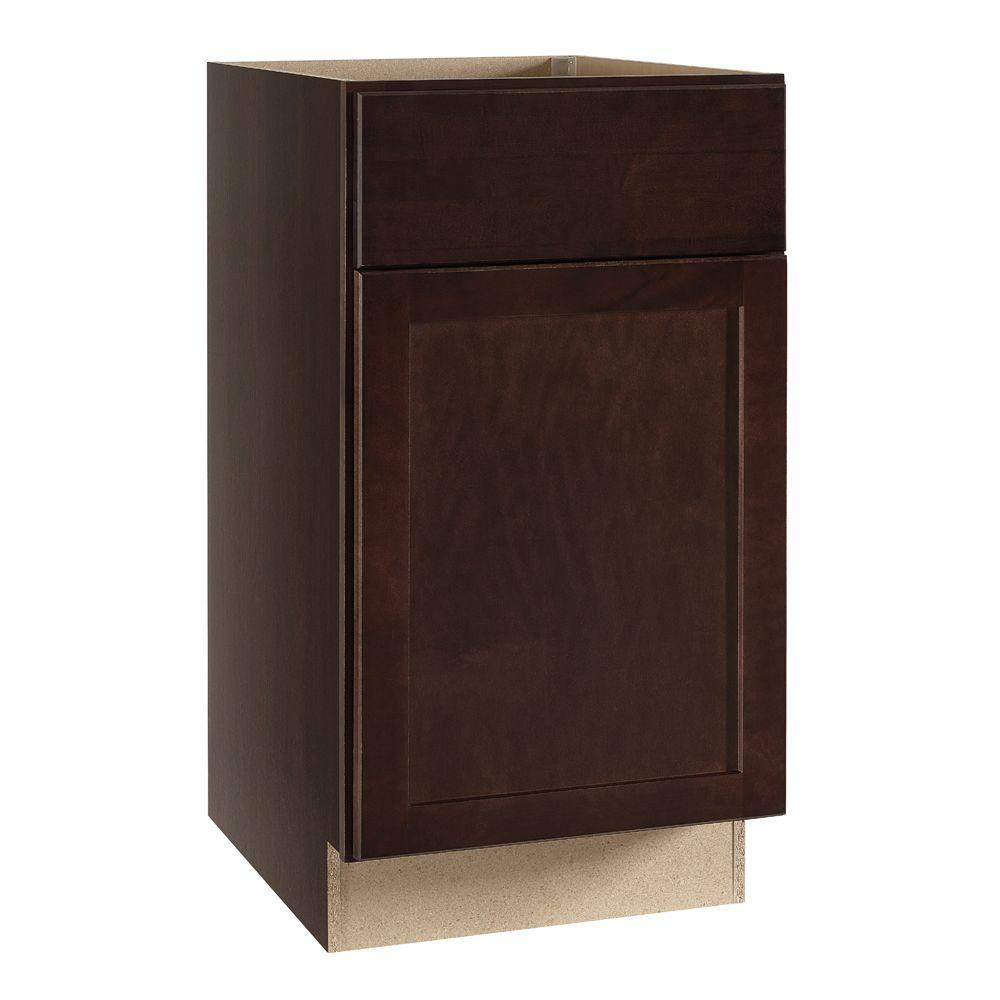 Kitchen Cabinet Package: Hampton Bay Shaker Assembled 18x34.5x24 In. Base Kitchen
