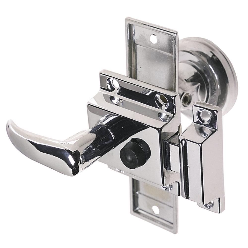 Perko Tubular Latch Set Sliding Lock Button