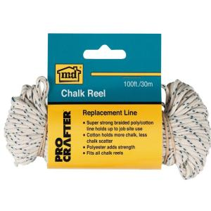 M-D Building Products 100 ft. Chalk Reel Replacement Line by M-D Building Products