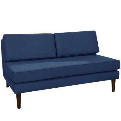 Klein Midnight Armless Chaise