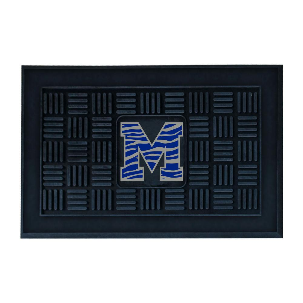 NCAA - University of Memphis Black 1 ft. 7 in. x