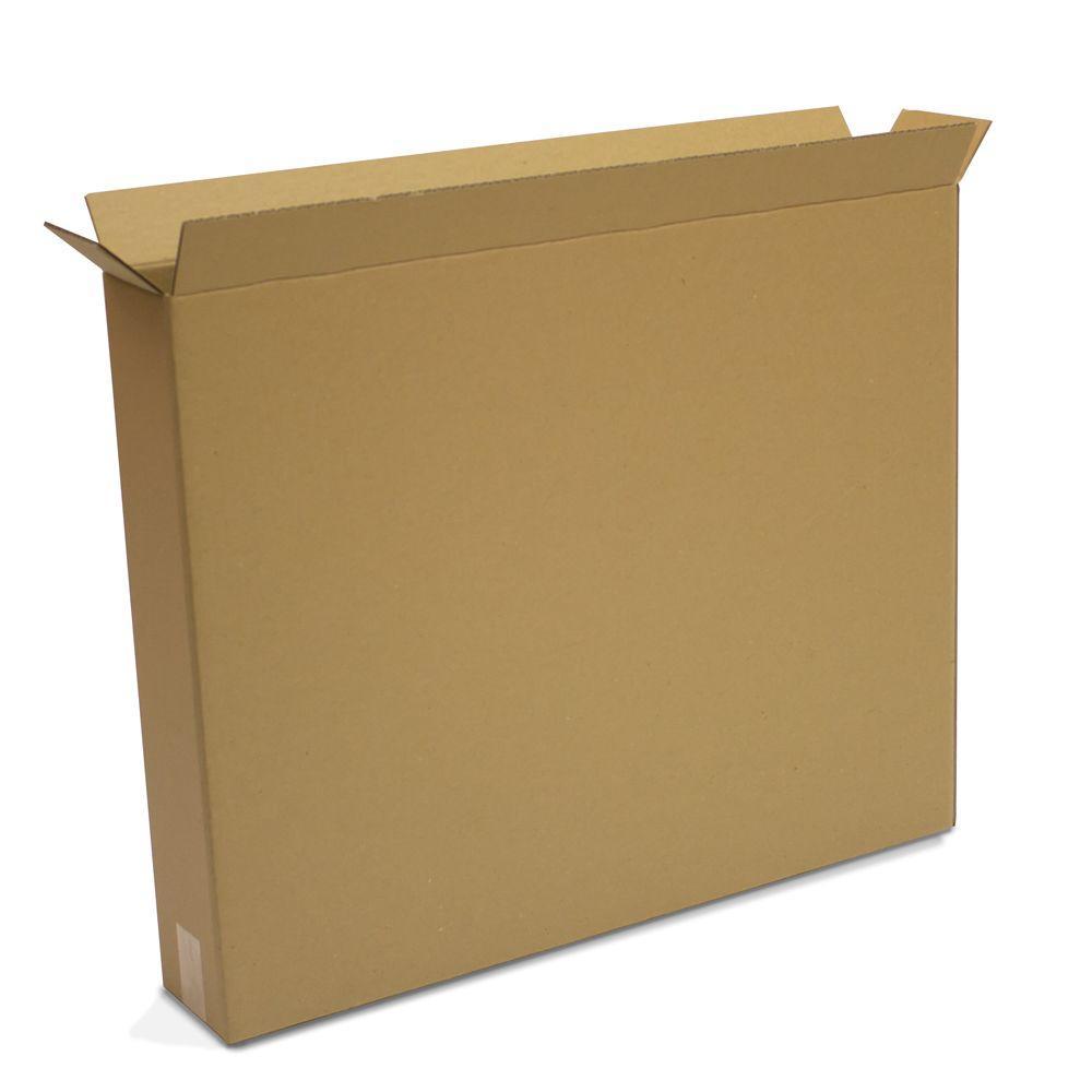 Moving Box (10-Pack) (30 in. x 5 in. x 24 in.)