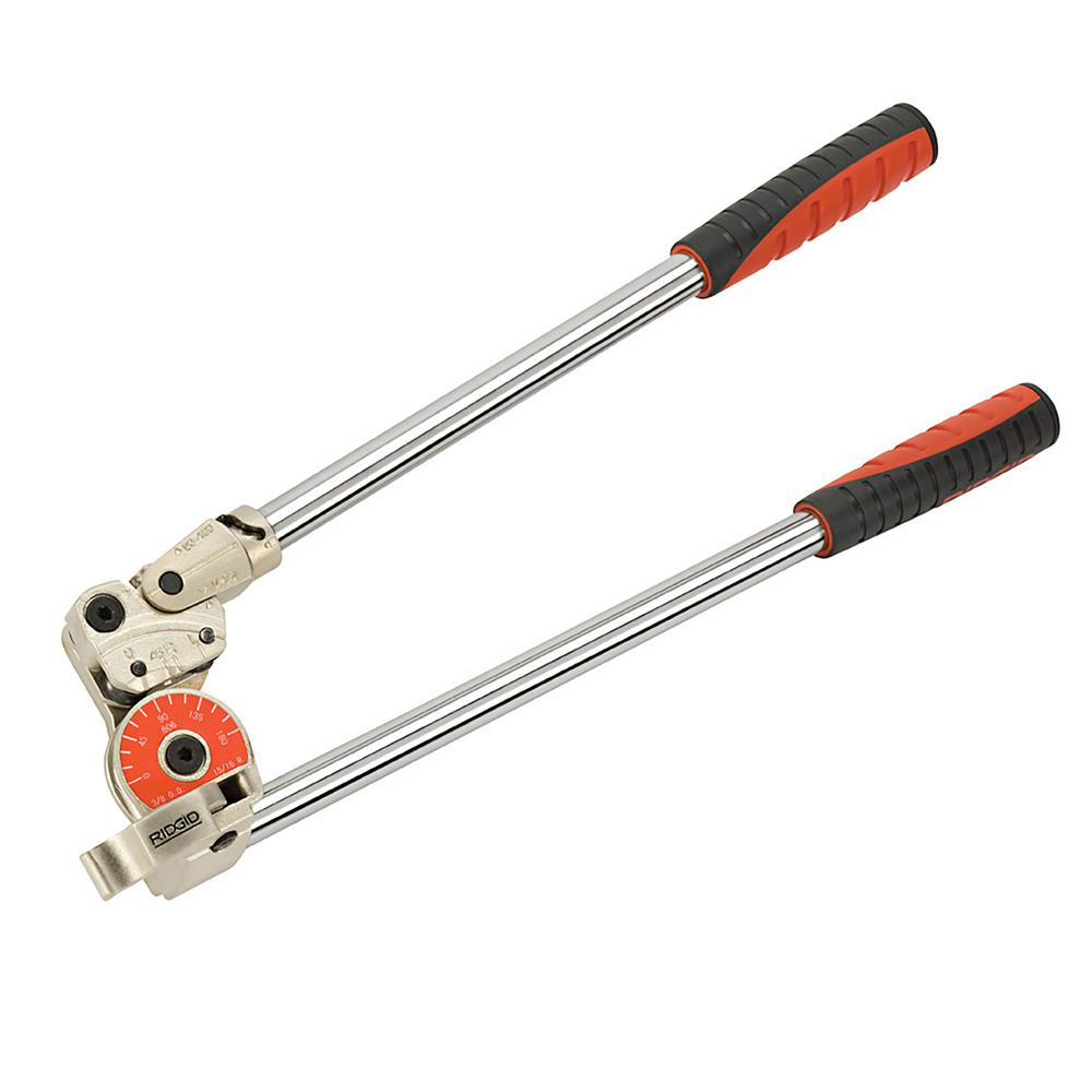 Ridgid 1 2 In Model 608 Heavy Duty Pipe And Tubing Bender 38048 The Home Depot
