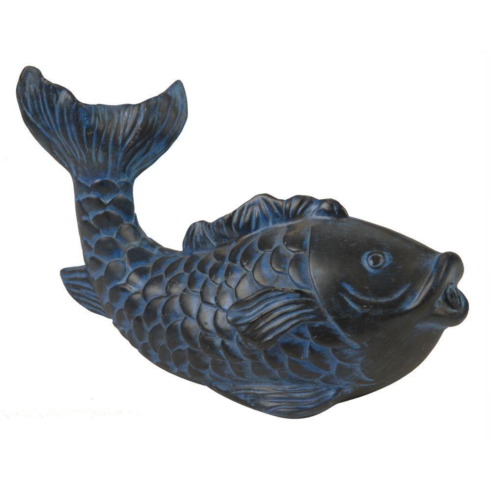 Total Pond Blue Koi Spitter