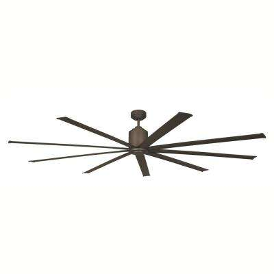 96 in. Indoor/Outdoor Oil-Rubbed Bronze Industrial Ceiling Fan