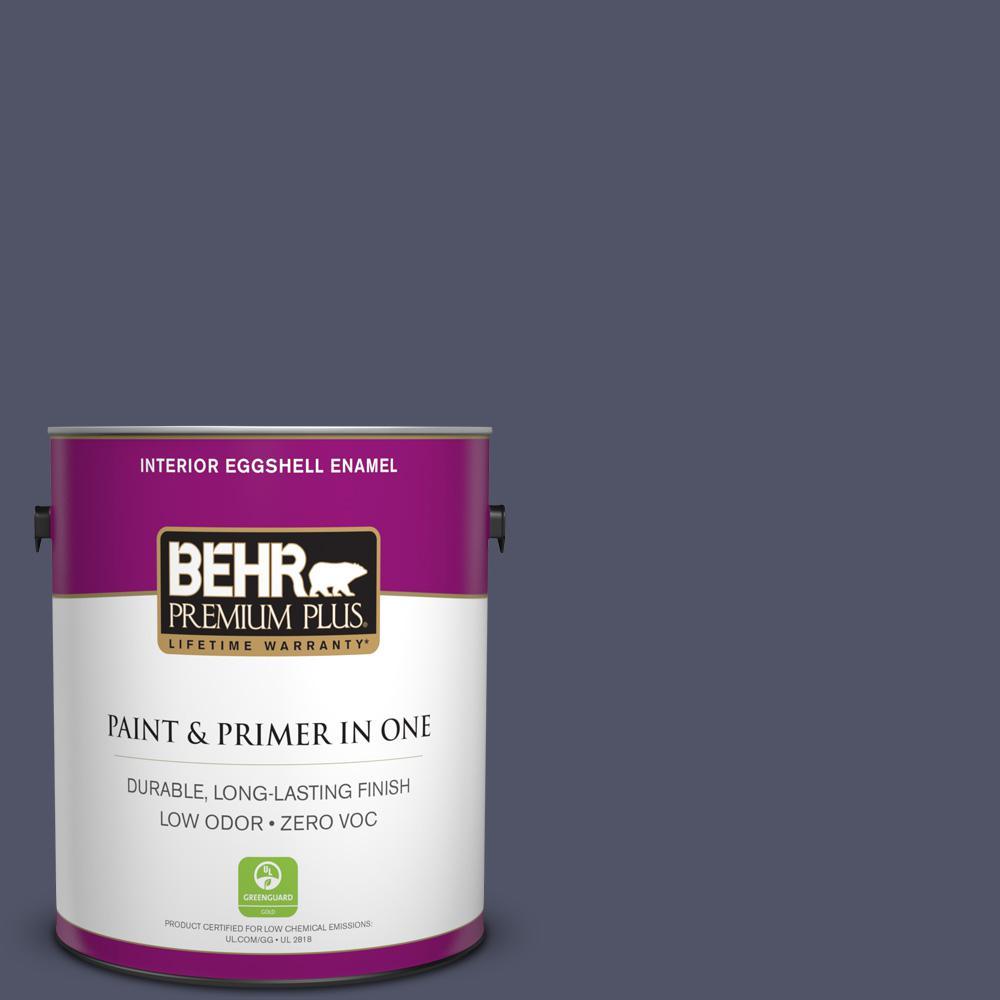 BEHR Premium Plus 1-gal. #620F-7 Maharaja Zero VOC Eggshell Enamel Interior Paint