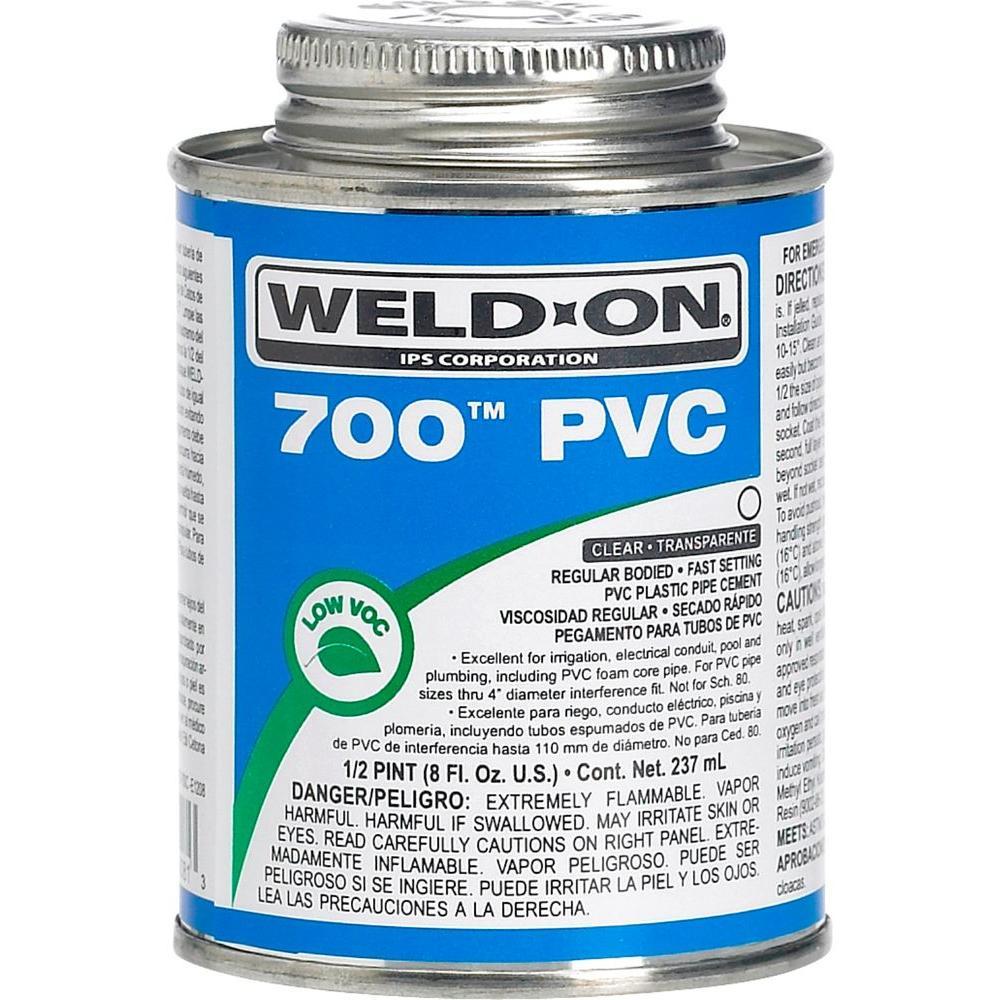 8 oz. PVC 700 Low VOC Cement in Clear