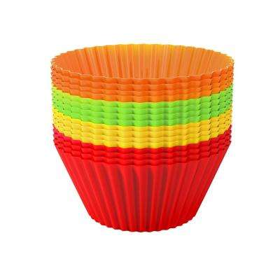 Silicone Cupcake Liners (24-Pack)