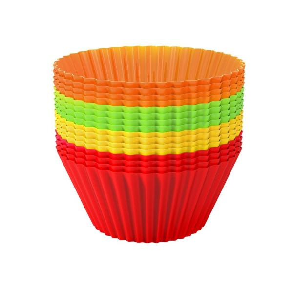 Chef Buddy Silicone Cupcake Liners (24-Pack) M030221
