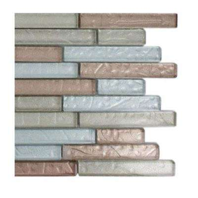 Metallic Cleopatra Harmony Glass Tile - 6 in. x 6 in. Tile Sample
