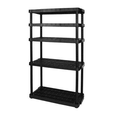 Heavy-Duty Adjustable Ventilated 5-Shelf Storage Shelving Unit