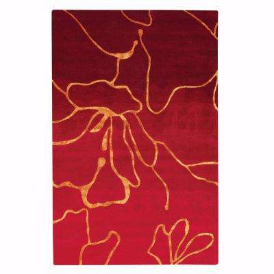 Atlas Red 8 ft. x 11 ft. Area Rug