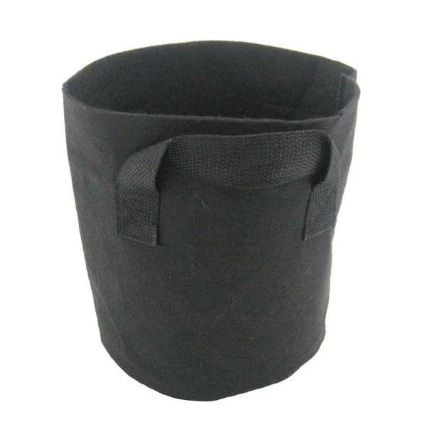 2 Gal. Breathable Fabric Root Aeration  Polypropylene Pot with Handles (10-Pack)