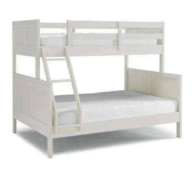 Naples Off White Twin Over Full Bunk Bed