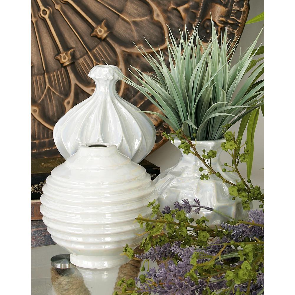 5 in ceramic decorative vases in black white and gray set of 3 modern white ceramic decorative vases set of 3 reviewsmspy