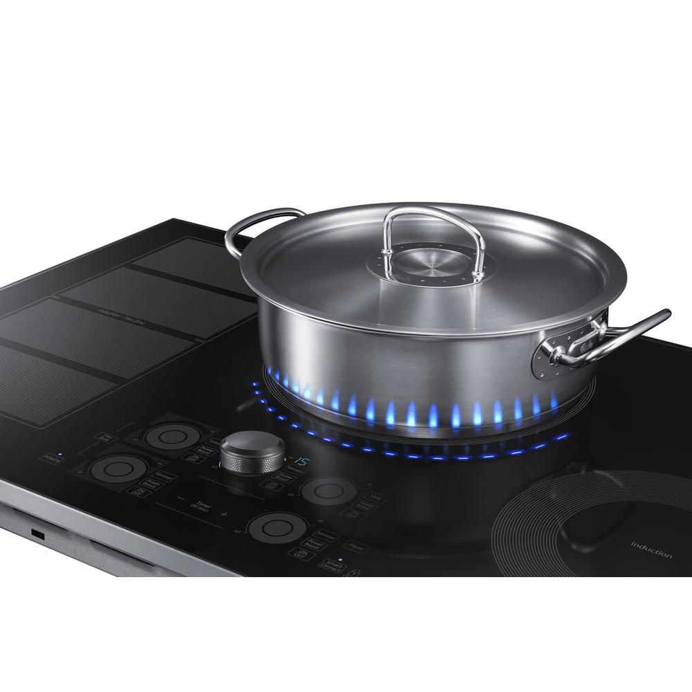 Induction Cooktop With Stainless Steel
