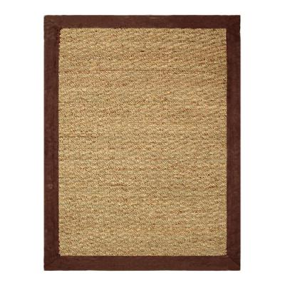 Seagrass Chocolate 5 ft. x 7 ft. Indoor Area Rug