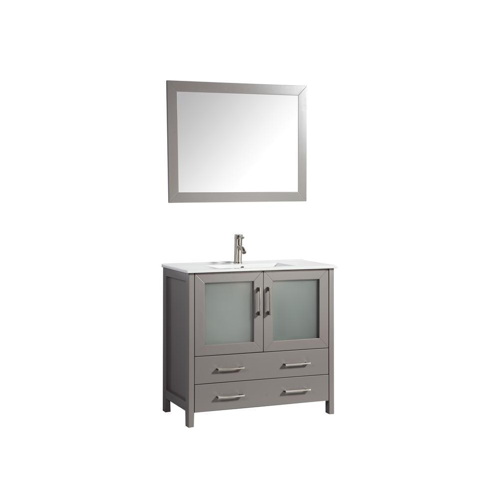 Vanity Art Brescia 36 in. W x 18 in. D x 36 in. H Bathroom ...