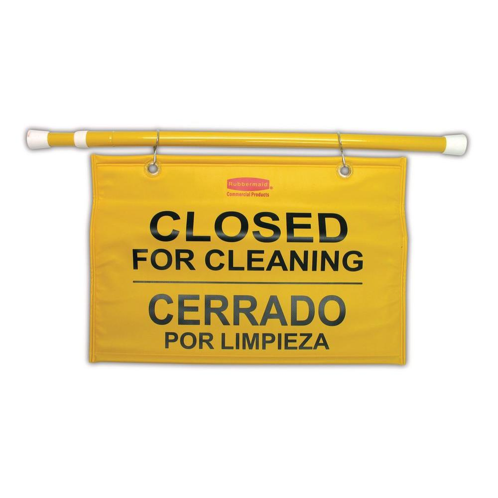 Site Safety Hanging Sign with Multi-Lingual Closed for Cl...