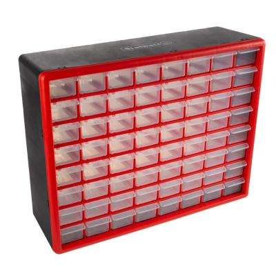 64-Compartment Small Parts Organizer
