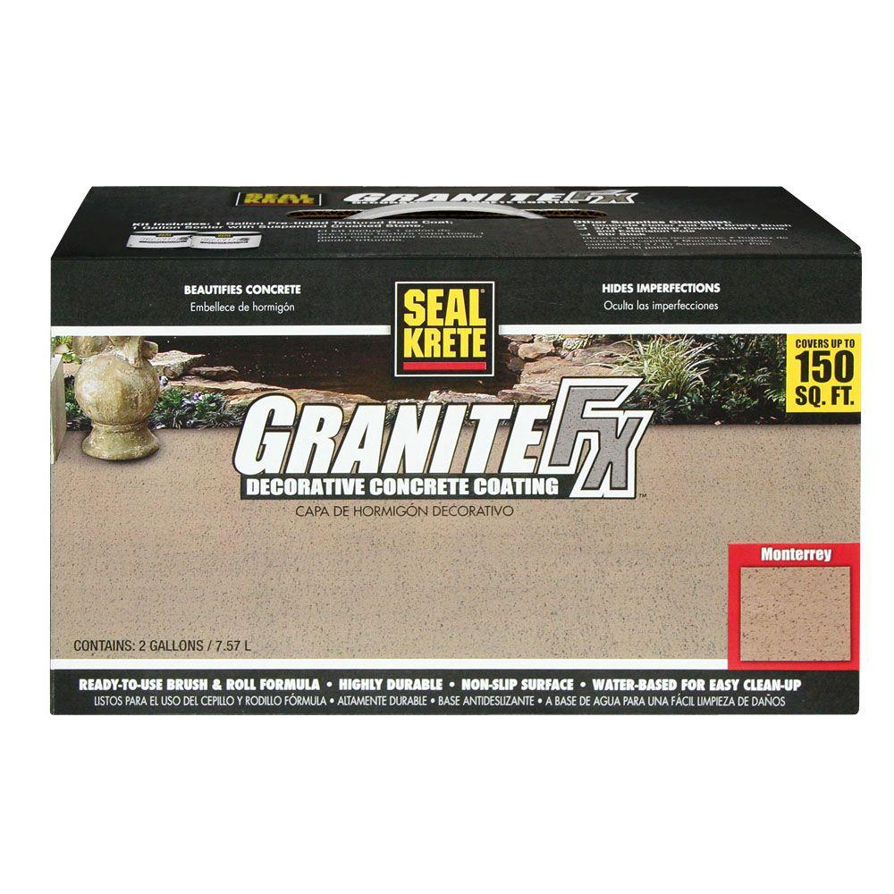 Seal-Krete 283 GraniteFX 2-gal. Monterrey Decorative Concrete Coating-DISCONTINUED