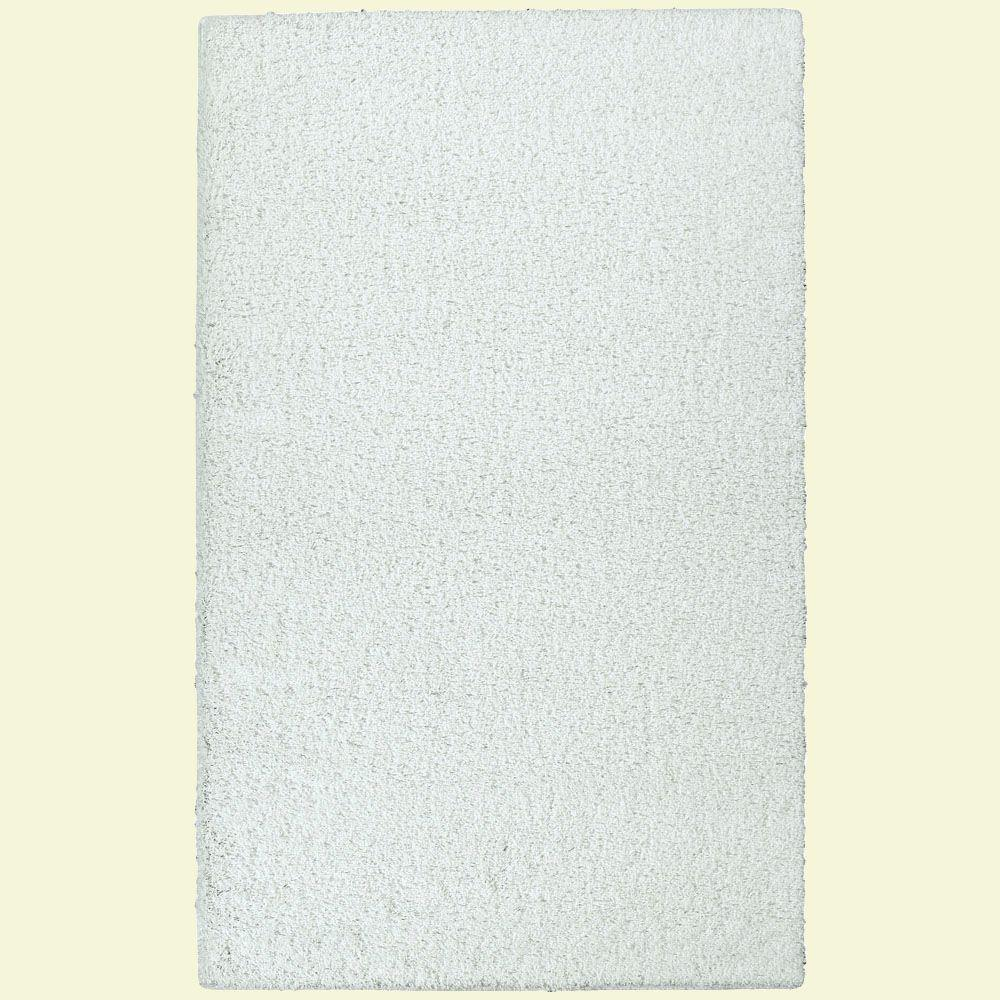 Southpointe Shag White 4 ft. x 6 ft. Area Rug