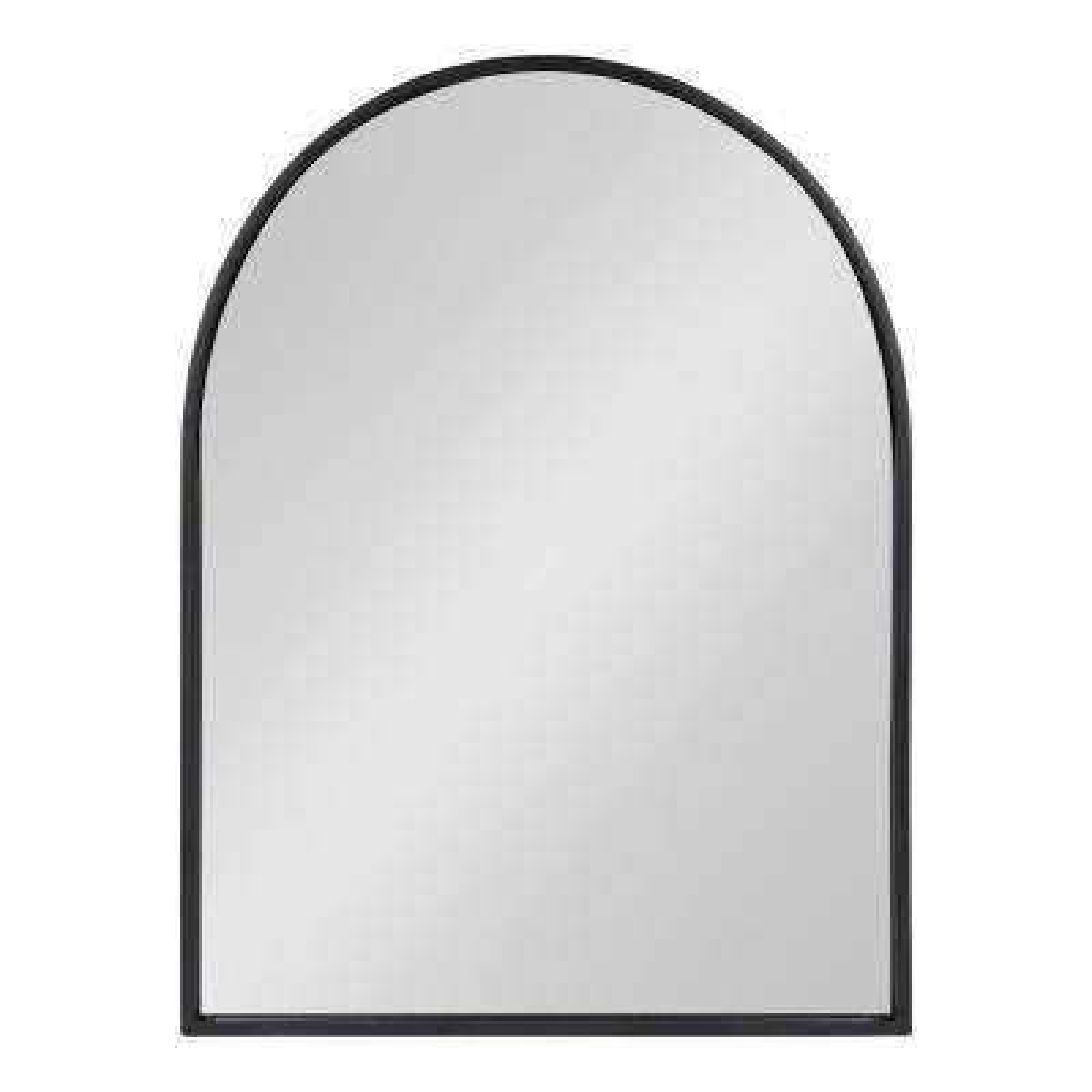 Valenti Arch Black Wall Mirror