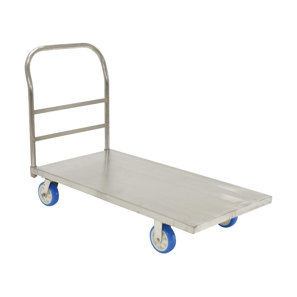 24 x 48 in. Stainless Steel Platform Truck