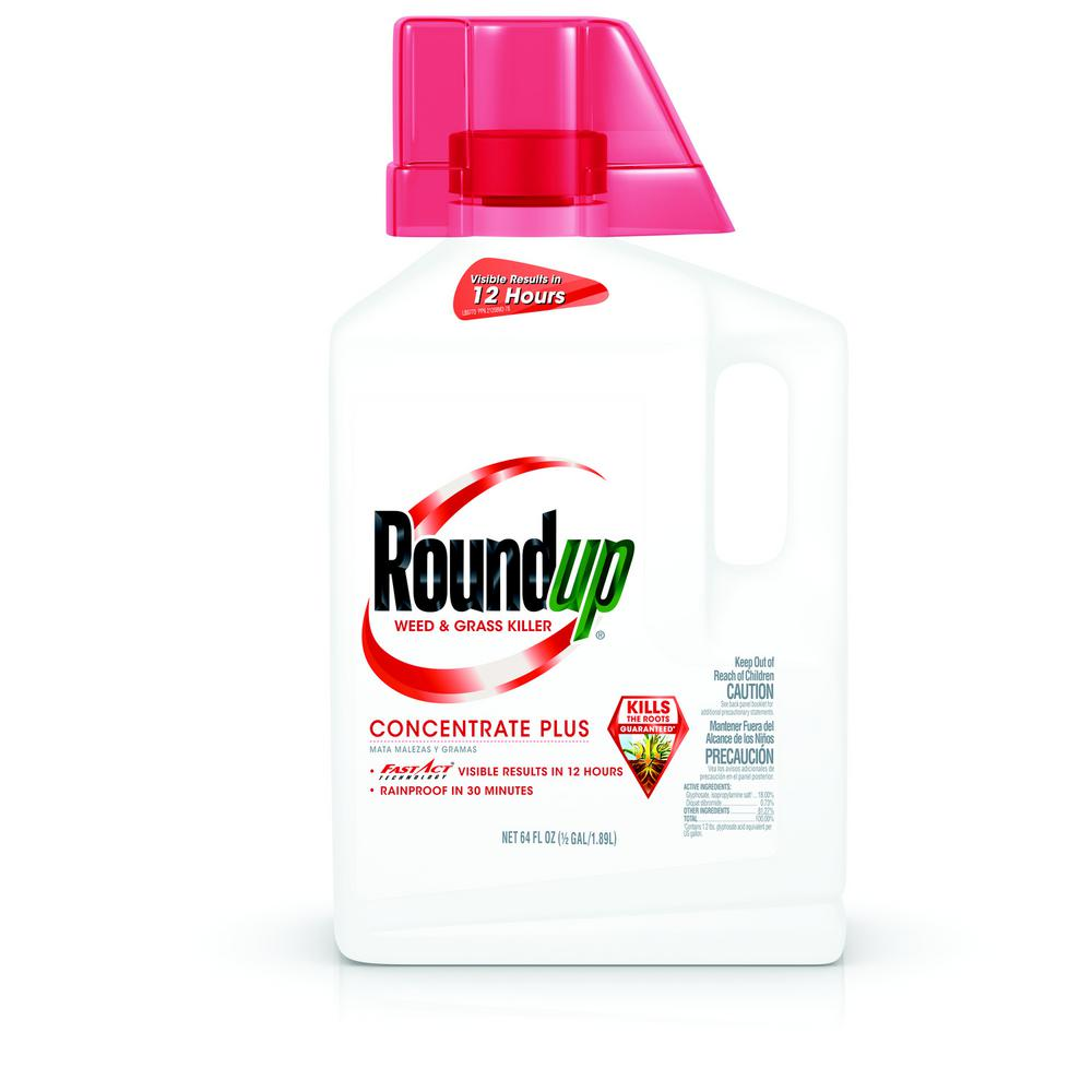 Roundup Weed and Grass Killer 64 oz. Concentrate Plus