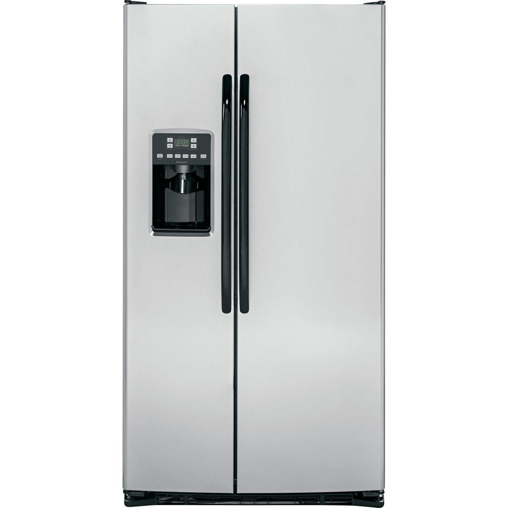 Hotpoint 25.4 cu. ft. Side by Side Refrigerator in Stainless Steel