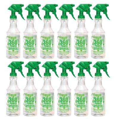 32 oz. 360-Degree All Angle Professional Spray Bottle (12-Pack Case)