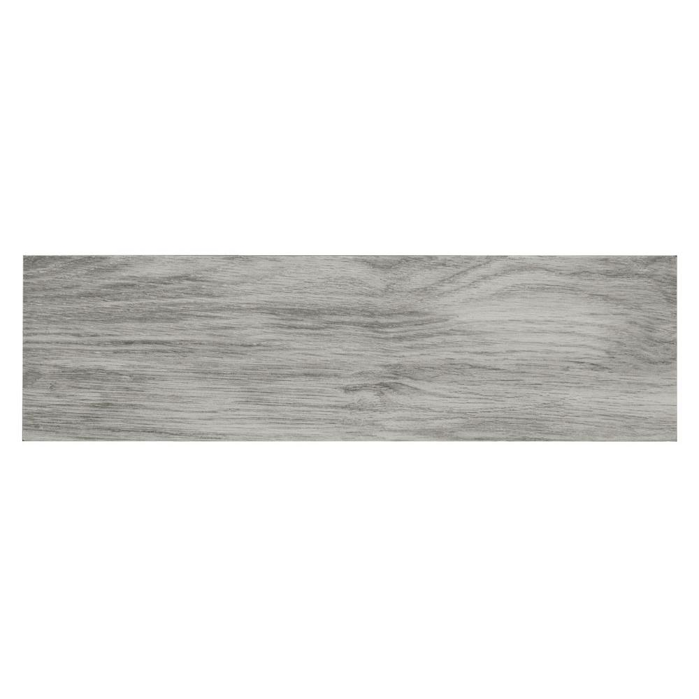 Oak Grey Porcelain Floor And Wall Tile 4 In X