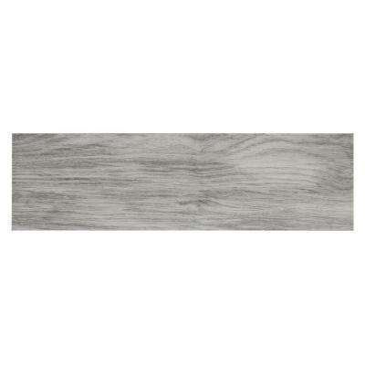 Oak Grey 7 in. x 24 in. Porcelain Floor and Wall Tile (19.38 sq. ft. / case)