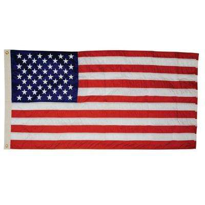 5 ft. x 9-1/2 ft. Nylon G-Spec U.S. Flag